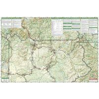 National Geographic Wandelkaart 201 Yellowstone National Park