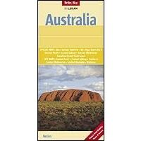 Nelles Australie Wegenkaart