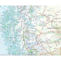 Nelles Landkaart Chili Patagonië
