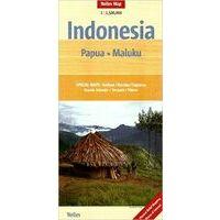 Nelles Landkaart Papua En Molukken 1:1.500.000
