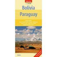 Nelles Landkaart Bolivia Paraguay 1:2.500.000