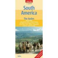 Nelles Landkaart Andes-gebergte 1:4.500.000