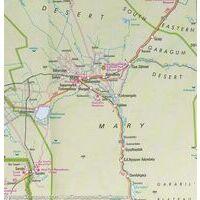Nelles Wegenkaart Centraal-Azië