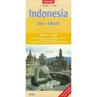 Nelles Wegenkaart Java & Jakarta 1:750.000
