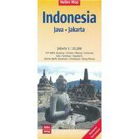 Nelles Wegenkaart Java
