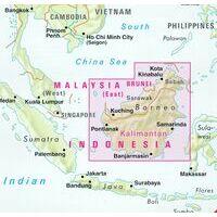 Nelles Wegenkaart Maleisië Oost Sarawak