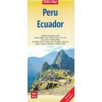 Nelles Wegenkaart Peru - Ecuador - Galapagos