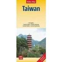 Nelles Wegenkaart Taiwan