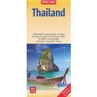 Nelles Wegenkaart Thailand -Bangkok - Ko Samet