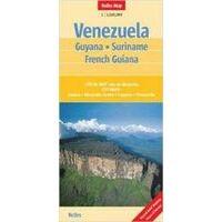 Nelles Wegenkaart Venezuela, Suriname En Guyana's