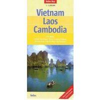 Nelles Wegenkaart Vietnam Laos Cambodja