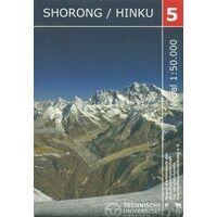 Nepal Kartenwerk Klimkaart Nr 5 Shorong Hinku 1:50.000