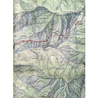 Nepal Kartenwerk Topografische Kaart Rolwallng Himal (Gaurinsankar)1:50.000