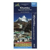 Nepal Kartenwerk Trekkingmap Khumbu 1:125.000