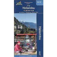 Nepal Kartenwerk Trekkingmap The Helambu Cultural Trai 1:50.000