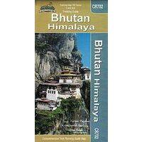Nepal Maps Trekking Map Bhutan 1:400.000