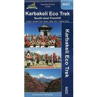 Nepal Maps Wandelkaart Karbakeli Eco Trek NA523