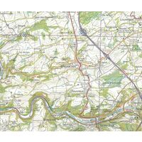NGIB Topografische Kaart 64 Bertrix