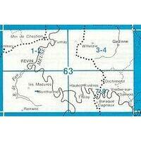 NGIB Topografische Kaart 63/1-2 Moulin Manteau