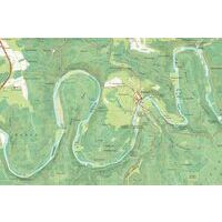 NGIB Topografische Kaart 63/3-4 Gedinne