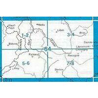 NGIB Topografische Kaart 64/7-8 Bertrix - Libramont