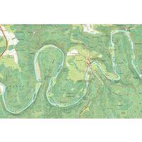 NGIB Topografische Kaart 65/3-4 Bastogne - Wardin