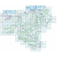 NGIB Topografische Kaart 67/3-4 Herbeumont - Suxy