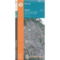 NGIB Topografische Kaart 55/1-2 Durbuy