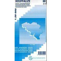 NGIB Topografische Kaart 60/3-4 Houffalize