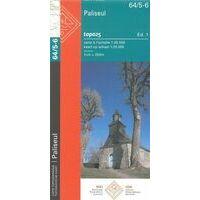 NGIB Topografische Kaart 64/5-6 Paliseul