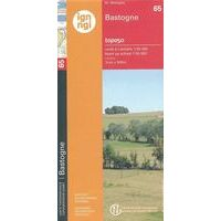 NGIB Topografische Kaart 65 Bastogne - Bastenaken