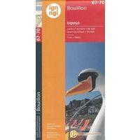 NGIB Topografische Kaart 67-70 Bouillon
