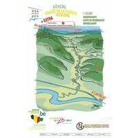 NGIB Wandelkaart Via Gulia - Geuldal
