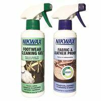 Nikwax Twin Fabric & Leather Spray/Footwear Cleaning Spray