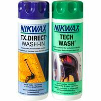 Nikwax Twin Pack TX Direct / Tech Wash 300 Ml