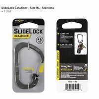 Nite Ize RVS Carabiner #4 Slidelock