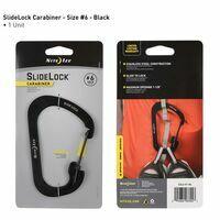 Nite Ize Carabiner #6 Slidelock Black
