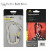 Nite Ize Carabiner #6 Slidelock Stainless Steel