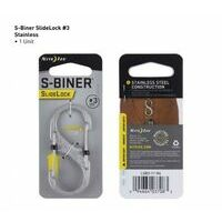 Nite Ize S-Biner #3 Slidelock Stainless