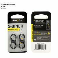 Nite Ize S-Biner Microlock Black