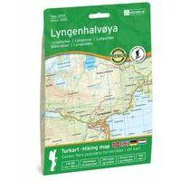 Nordeca Wandelkaart 3026 Lyngenhalvoya
