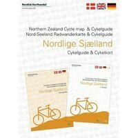 Nordisk Sjaelland Noord-Zeeland Fietskaart +