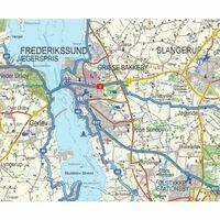 Nordisk Sjaelland Zuid-Zeeland Fietskaart + Gids