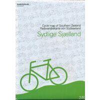 Nordisk Korthandel Fietskaart Denemarken 2/8: Sydlige Sjaelland / Zuidelijk Zeeland