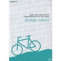 Nordisk Korthandel Fietskaart Denemarken 4: Ostlige Jylland / Oostelijk Jutland