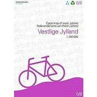 Nordisk Korthandel Fietskaart Denemarken 6: Vestlige Jylland / Westelijk Jutland