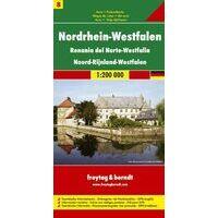 Freytag En Berndt Wegenkaart Nordrhein-Westfalen