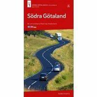Norstedts Zweden Wegenkaart 1 Zweden Zuid Zuid