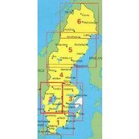 Norstedts Zweden Wegenkaart 2 Zweden Zuidwest