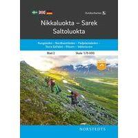 Norstedts Zweden Outdoormap 02 Nikkaluokta - Sarek - Saltoluokta